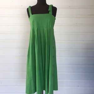 Vintage Prairie Style Handmade Green Yellow